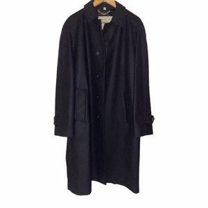 Burberry mens authentic 100% cashmere coat size L